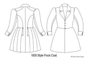 19th Century Frock Coats – Denise Nadine Design