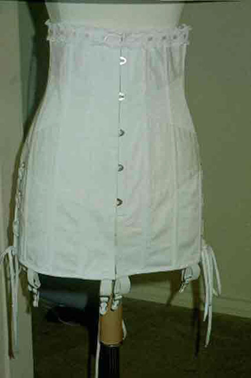 1920's Reproduction corset front view