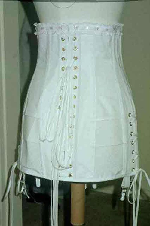 1920's Reproduction Corset back view