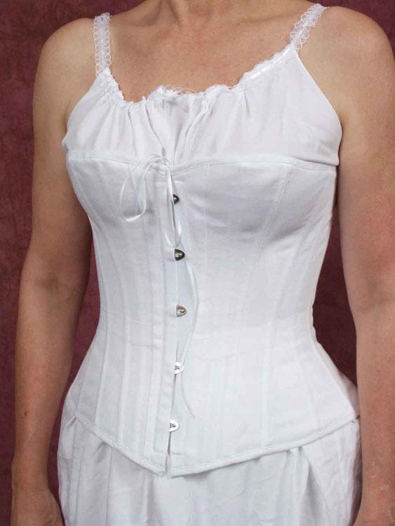 1870's 1880s corset