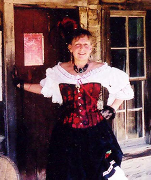 Just for fun saloon girl brocade