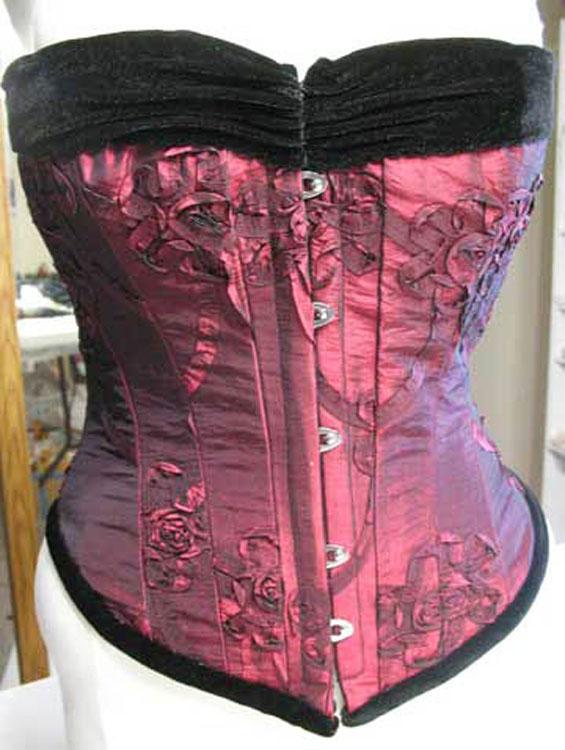 Fancy dress corset