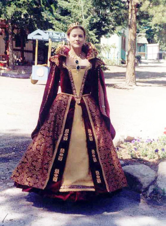 Queen of the Colorado Renaissance Festival