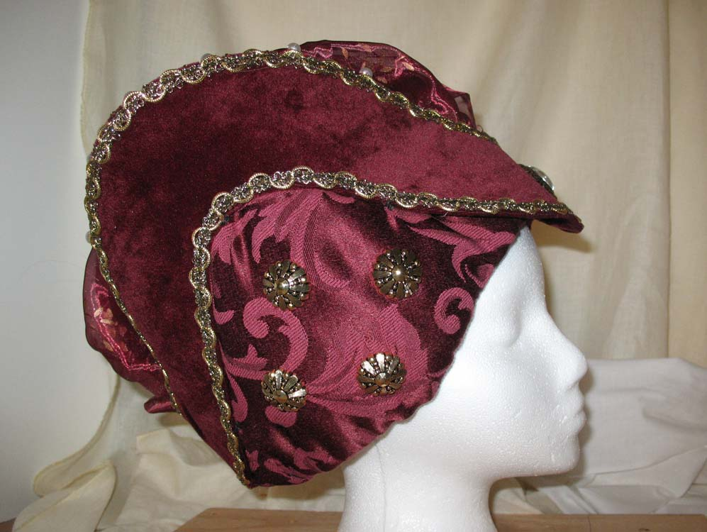Medieval hat front view