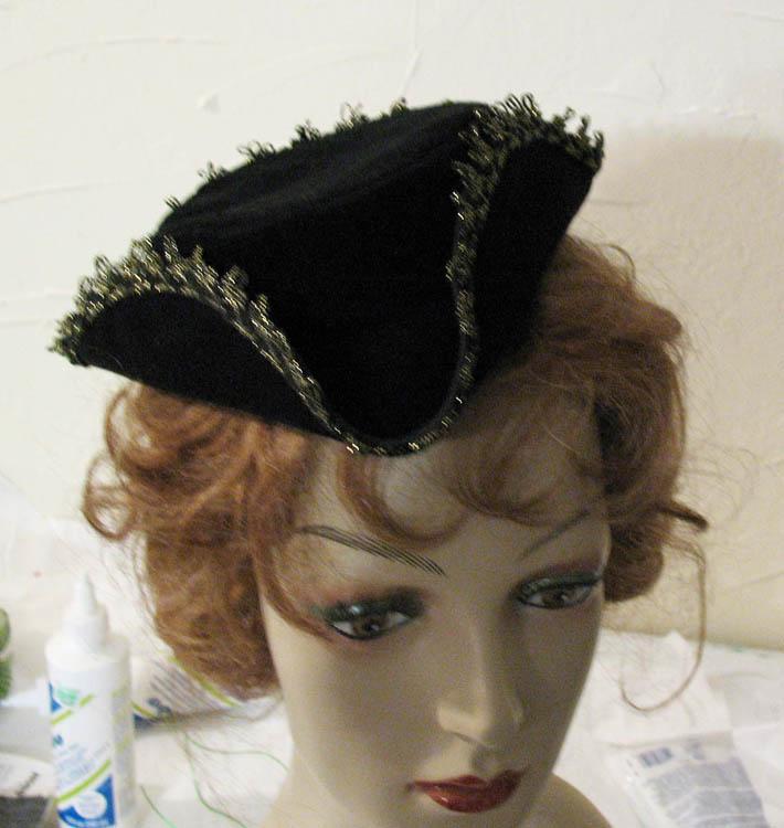 Mini Tricorn hat