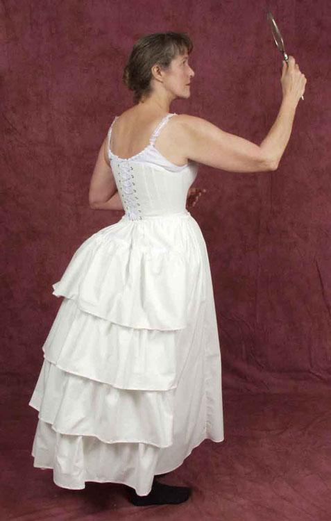 1880's Bustle Petticoat