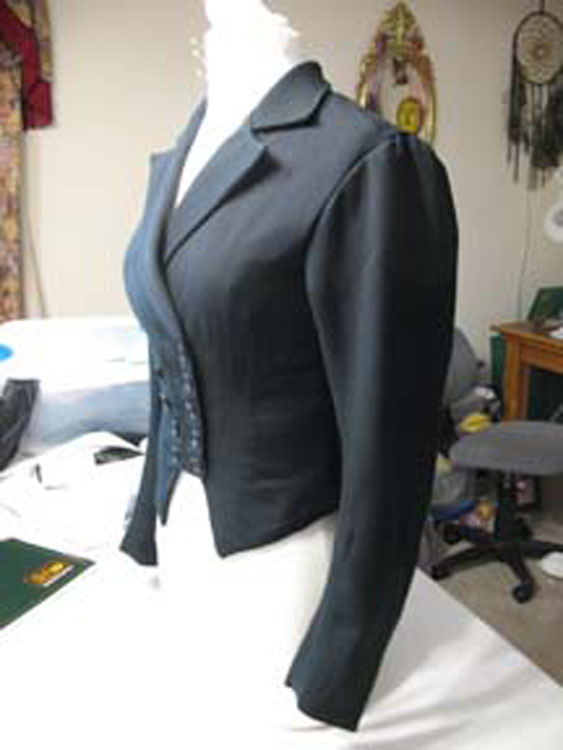 Early Victorian riding jacket