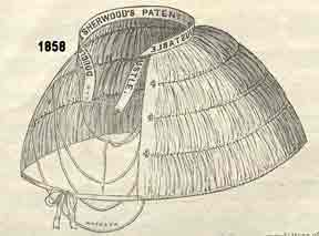 1858 Adjustable Bustle