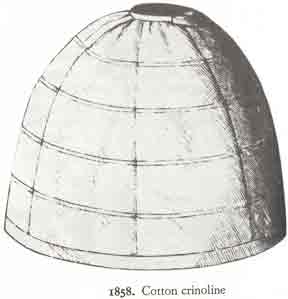 1858 Crinoline